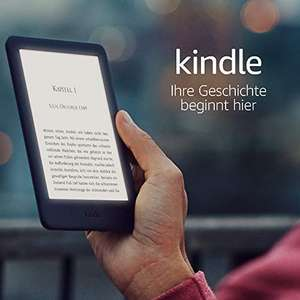 Kindle e-reader 2019 versie (met backlight) @Amazon.de