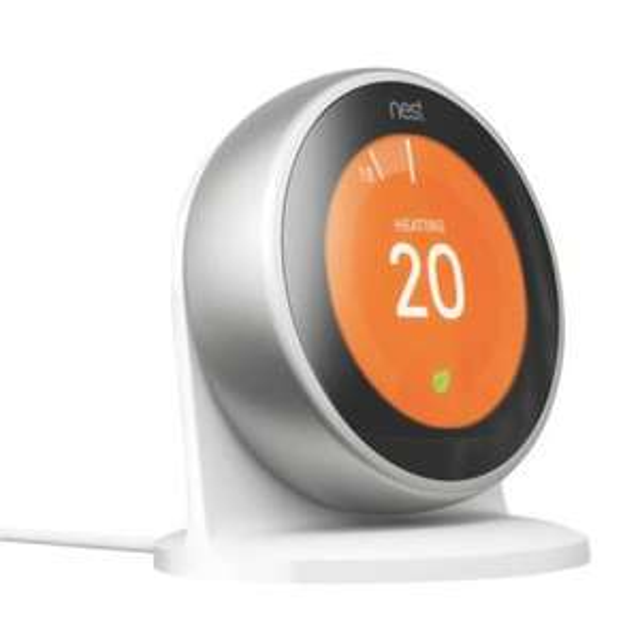 Google nest Thermostat 3rd generation met gratis standaard