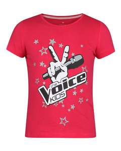 (Bijna) gratis T-shirt The Voice Kids