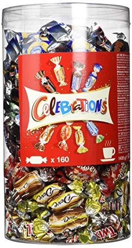 1,4 kg Celebrations (160 stuks) voor €12,53 @ Amazon.de