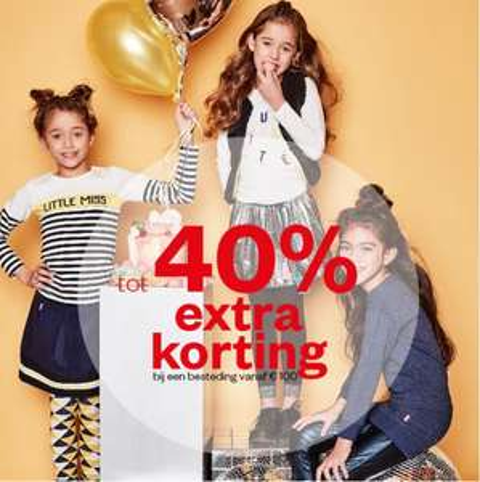20-40% EXTRA korting op baby-/kidskleding (va €50 / €100) @ Maison Lab