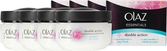 Olaz Essentials Double Action dagcrème voordeelverpakking (4 stuks) voor €6,99 @ Bol.com