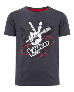 Jongens The Voice Kids t-shirt voor €0,01 @ We Fashion