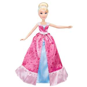 Disney Princess Assepoester 2 in 1 jurk modepop - Wehkamp