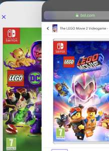 The LEGO Movie 2 Videogame / LEGO DC Super-Villains  - Nintendo switch & PlayStation 4