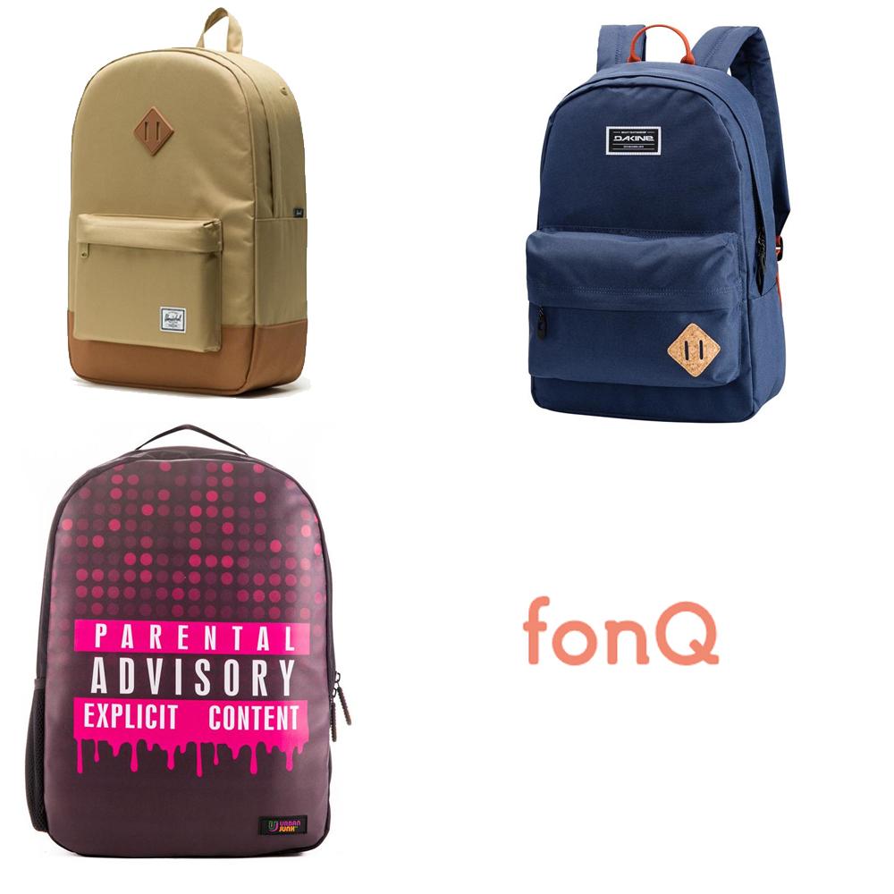 (Rug)tassen hoge korting (tot -70%) + evt extra korting @ fonQ