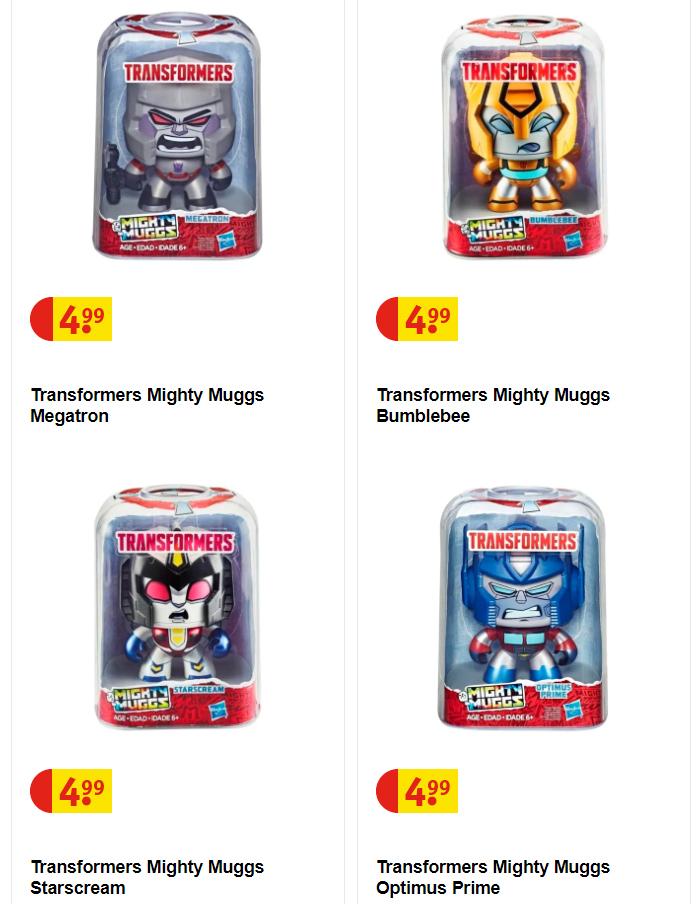 Transformers 'Mighty Mugs' @ Kruidvat