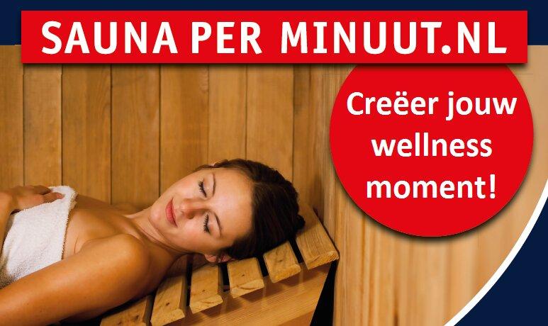 Sauna de Veluwe in Lunteren: Wellness voor €0,04 per minuut (ofwel €2,40 per uur)