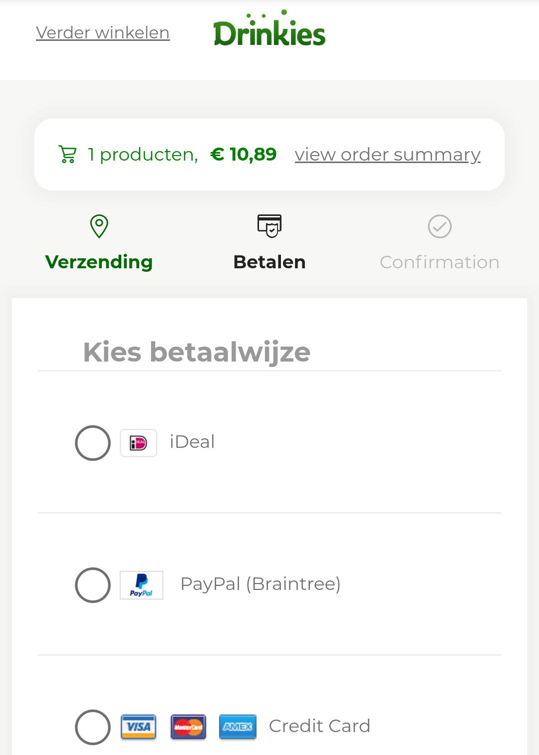 Koud kratje Heineken voor €6,99 gratis thuisbezorgd (of ander bier)