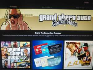 GTA: San Andreas PC gratis door downloaden Rockstar Games Launcher