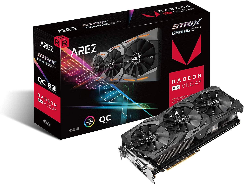 Asus Radeon AREZ Strix RX Vega 56 OC gaming 8 GB