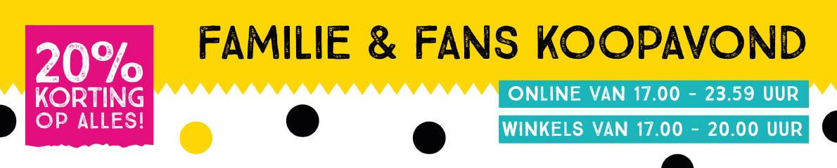 20% korting op alles Familie & Fans koopavond - Xenos