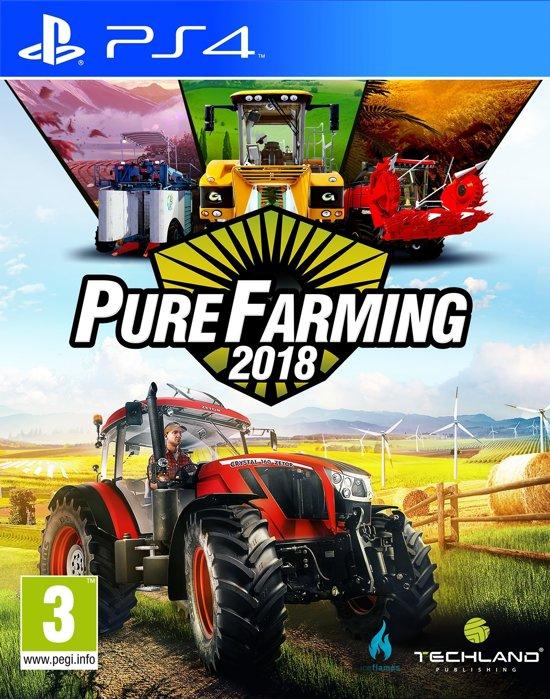 Pure Farming 2018 - PS4 8,99 bij Bol