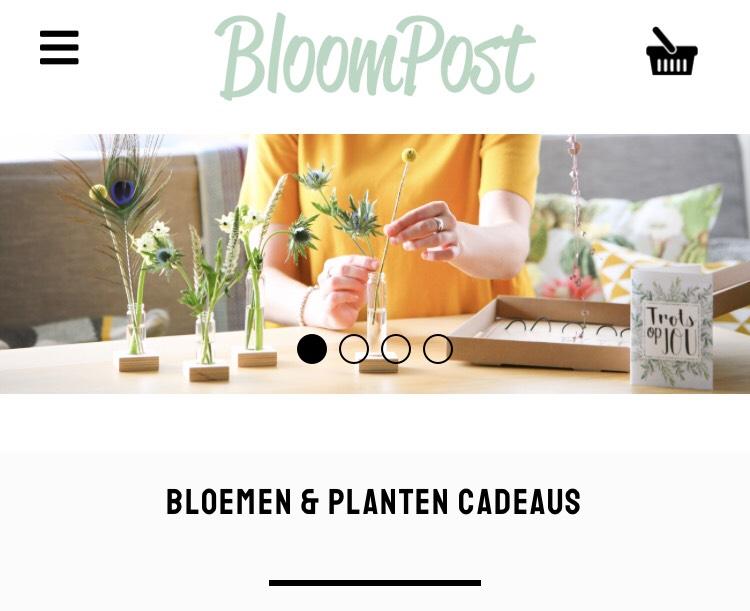 Bloompost 20% korting