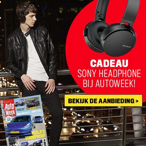 29x Autoweek + Sony MDR-XB650BT koptelefoon voor 69,-