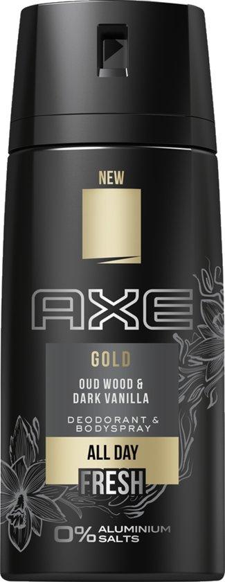 Axe Gold - Deodorant Spray 150 ml - 6 stuks Voordeelverpakking @ Bol.com Plaza