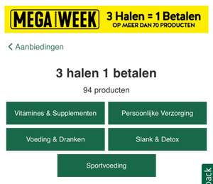 Holland en Barret Mega Week - 3 halen 1 betalen