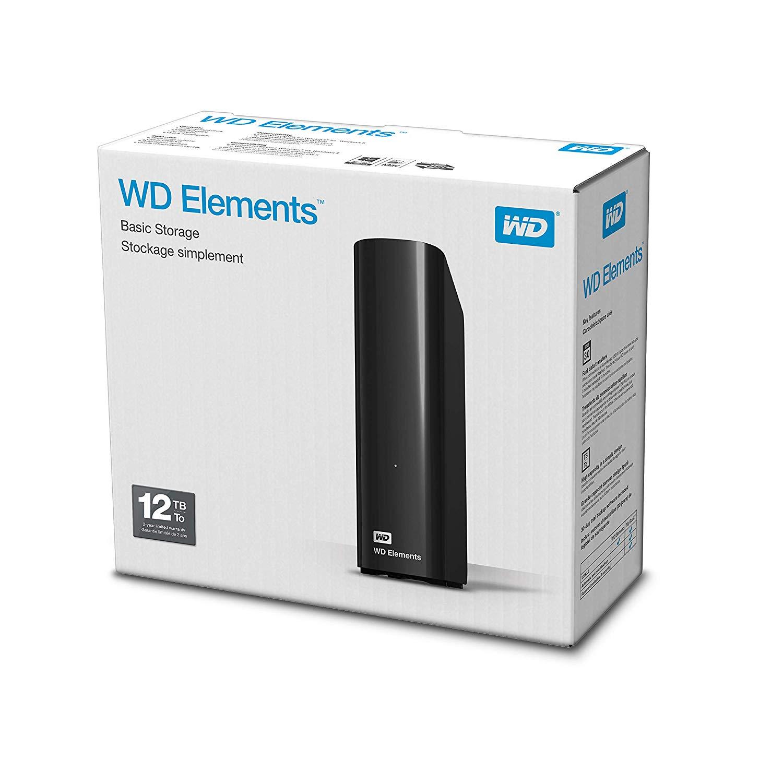 WD 12TB Elements Desktop [Amazon UK Pre-Order]
