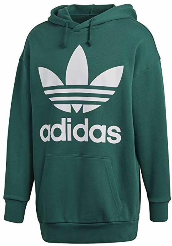 Adidas Originals trefoil hoody of Sweatshirt In M maat
