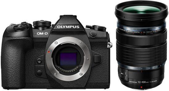 Olympus OM-D E-M1 Mark II + 12-100mm + gratis HLD-9 powergrip & 30mm macro lens @ Bol.com