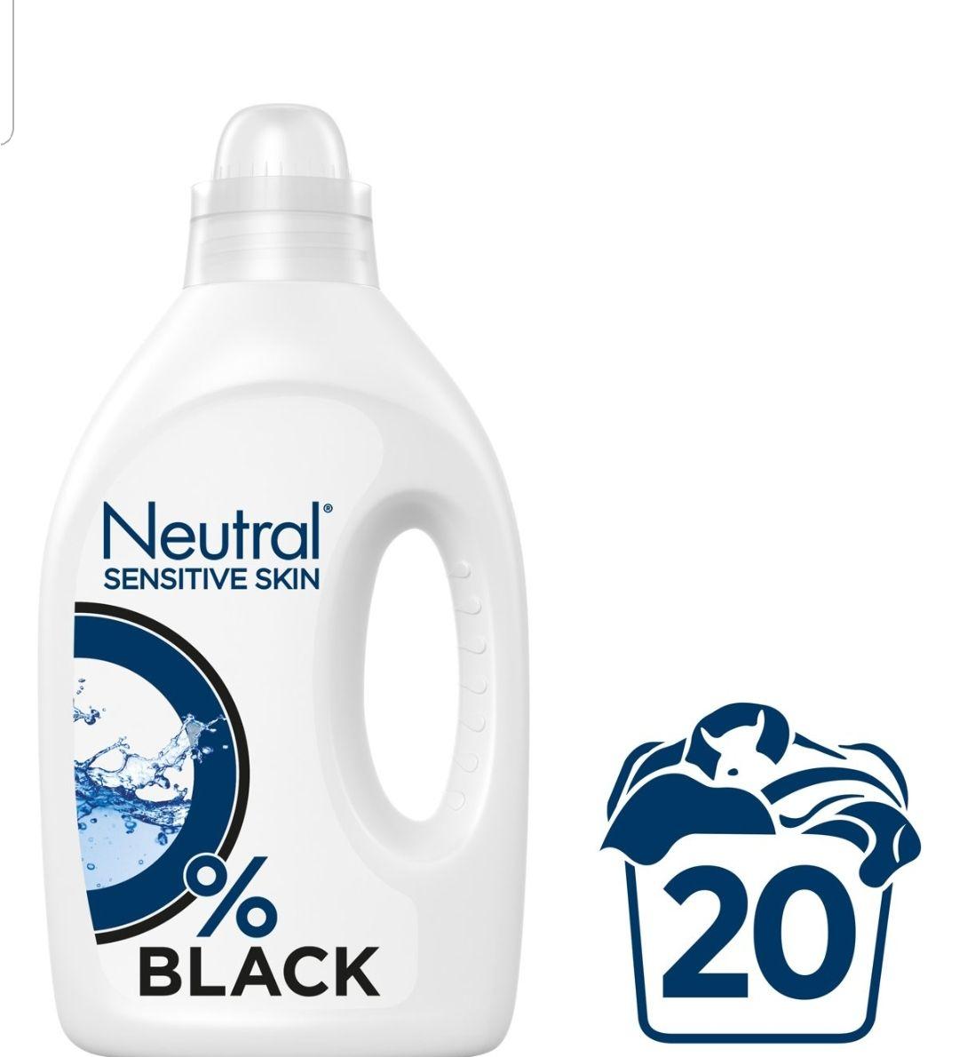 Neutral wasmiddel black 50% korting