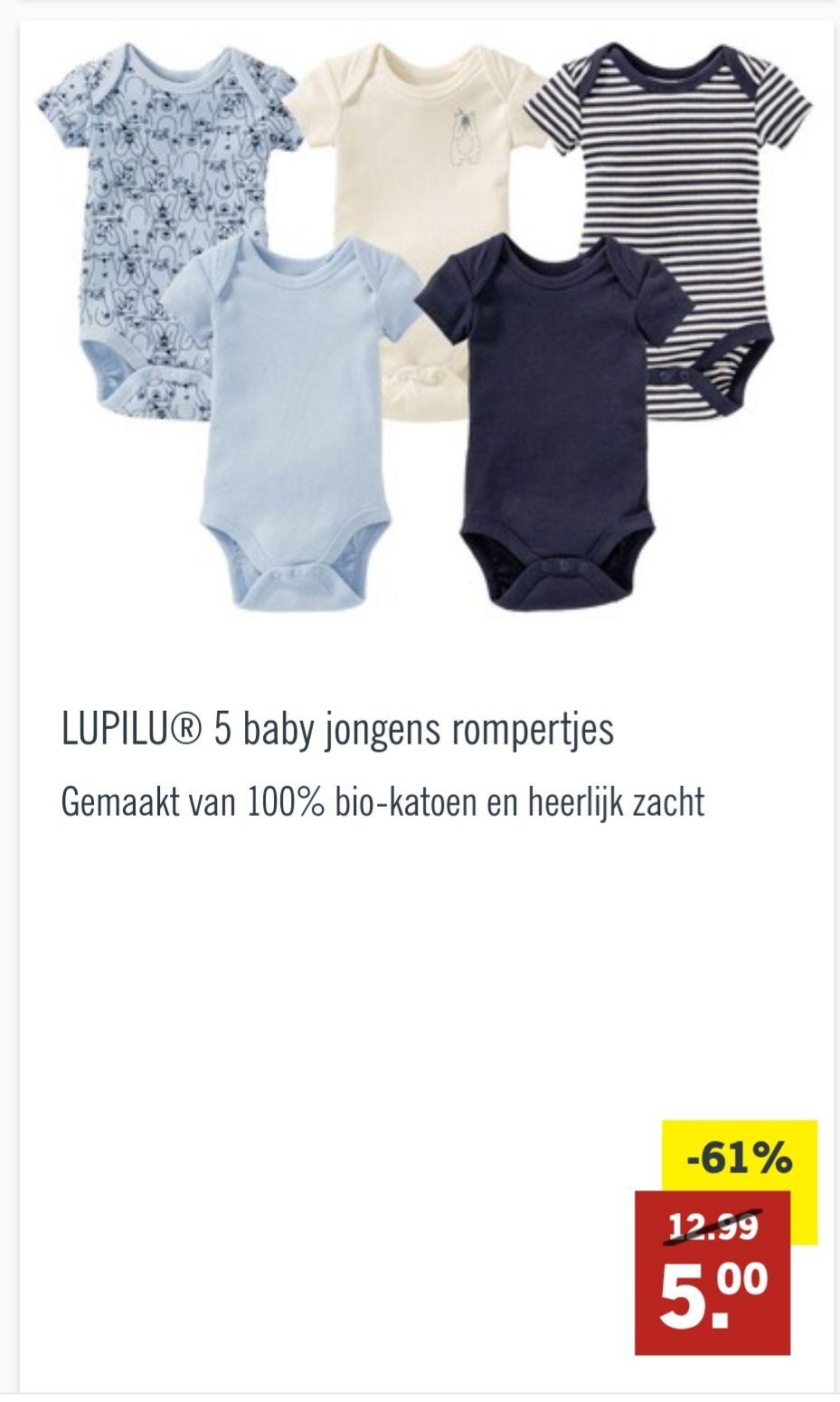 Lidl babykleding aanbieding