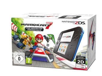 Nintendo 2DS Console met Mario Kart 7 voor €99,99 @ iBood