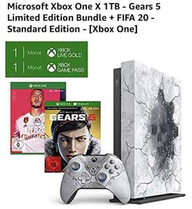 Microsoft Xbox One X 1TB - Gears 5 Limited Edition Bundle + FIFA 20 - Standard Edition - [Xbox One]