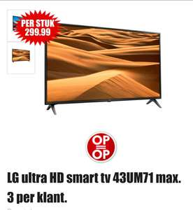 LG ultra HD smart tv 43UM71