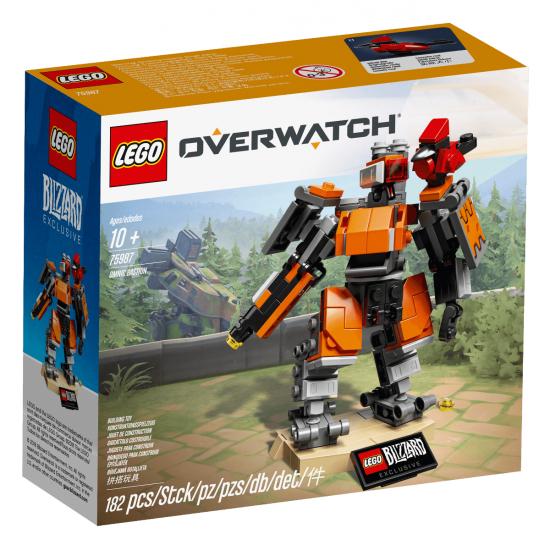 LEGO® Overwatch® Omnic Bastion 75987 Bouwpakket voor €19,89 (incl. verzendkosten)