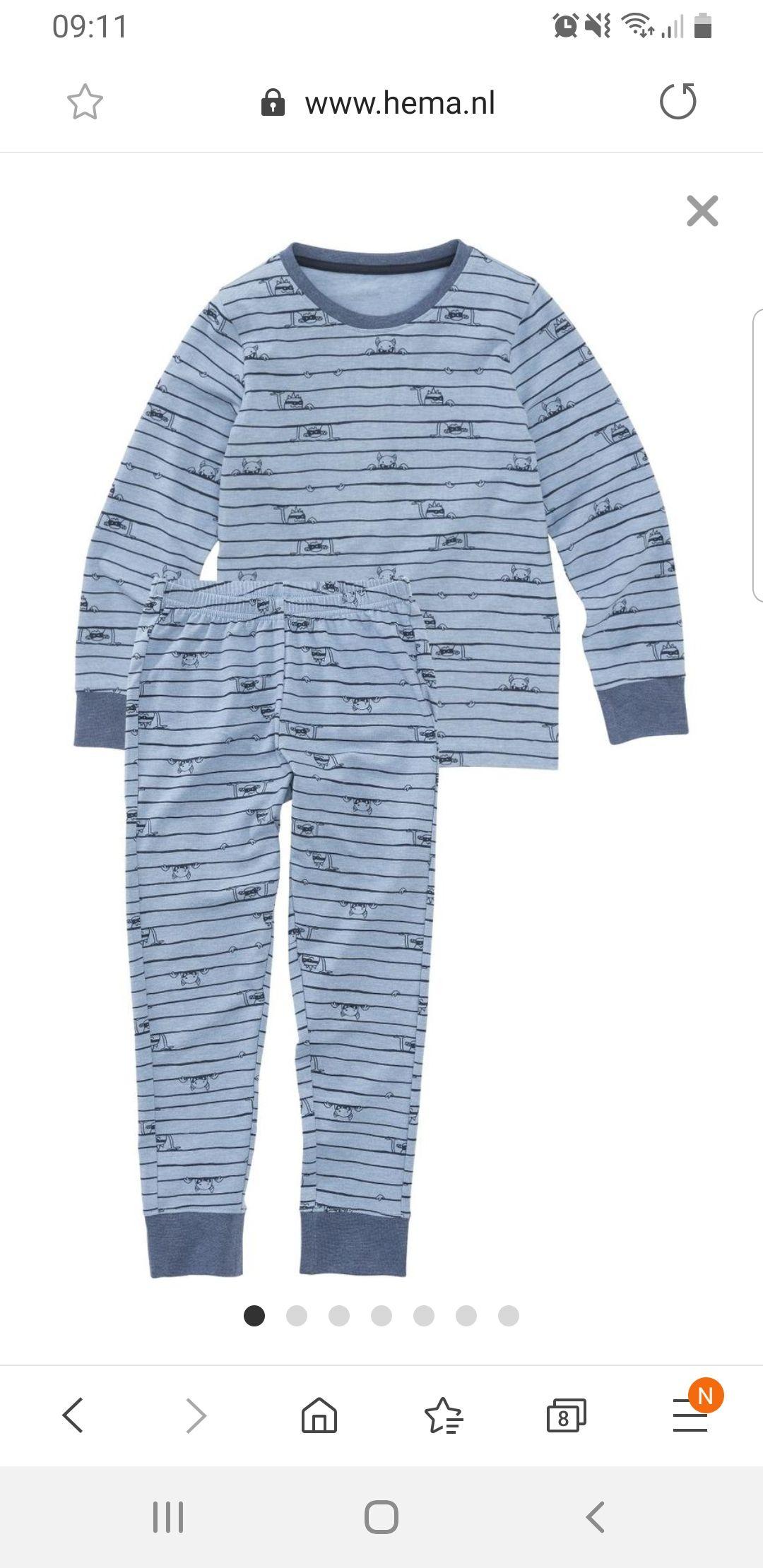 Kinder pyjama Hema
