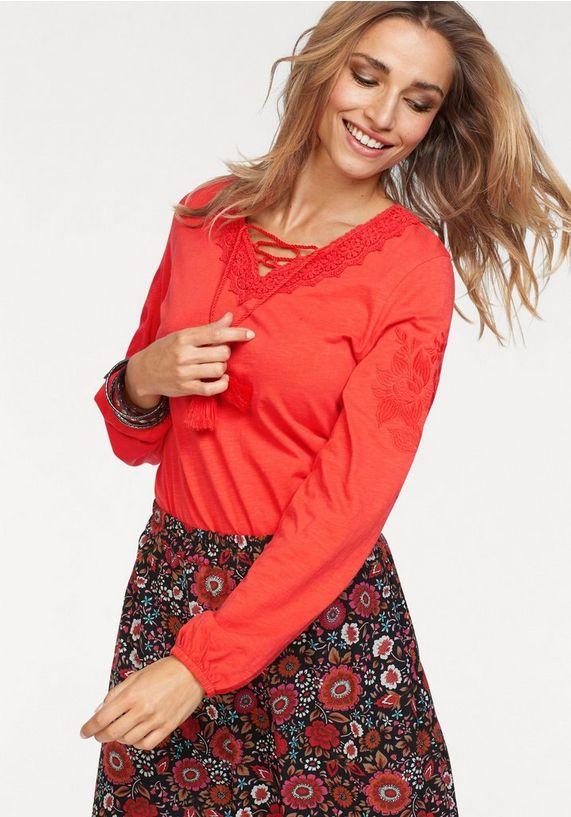 Aniston shirt met lange mouwen bij Otto voor 9,99 euro (67% korting)