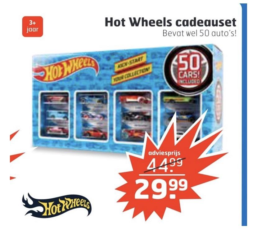 Hot Wheels cadeauset met 50 auto's €29,99 @trekpleister