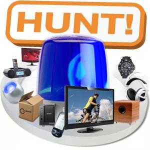 iBOOD Hunt vandaag en morgen - Ruim 500 aanbiedingen in 2 dagen