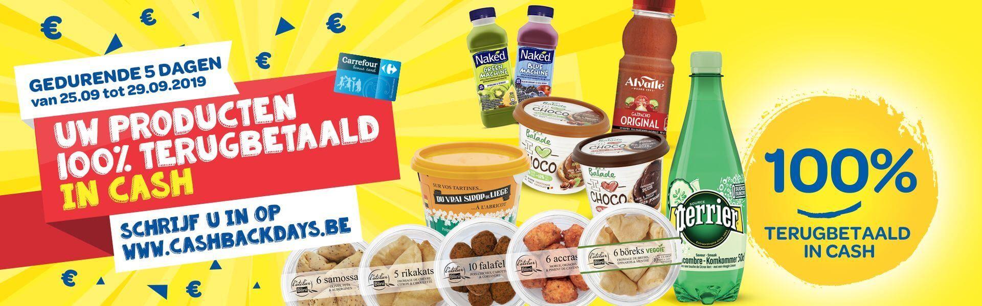 [Grensdeal België] 8 gratis producten twv €21,03 @Hypercarrefour