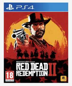 Red dead redemption 2 PS4/XB1