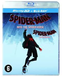 Spider-Man: Into The Spider-Verse (3D + 2D Blu-ray)