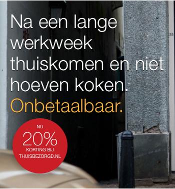 [UPDATE] 20% korting @ Thuisbezorgd (via Mastercard)