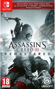 Assassins Creed 3 & Liberation Remastered (Switch) @ Bol.com