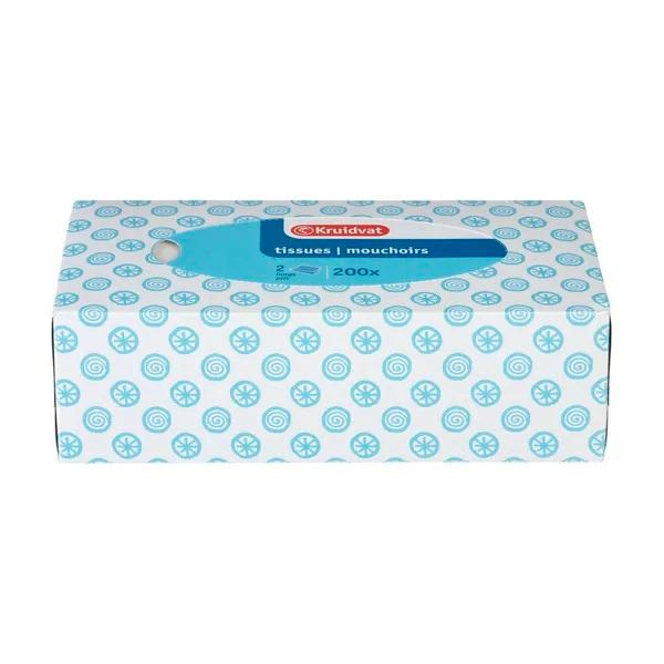 3 Kruidvat tissues 200x 2-laags velletjes 0,67 per pak @Kruidvat
