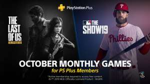 PlayStation Plus games voor oktober (The Last Of Us Remastered en MLB The Show 19)