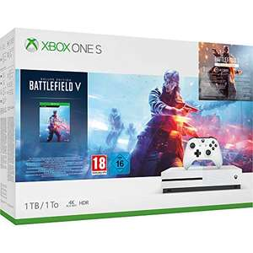 Microsoft Xbox One S 1TB + Battlefield V Deluxe Editon @ Amazon.fr