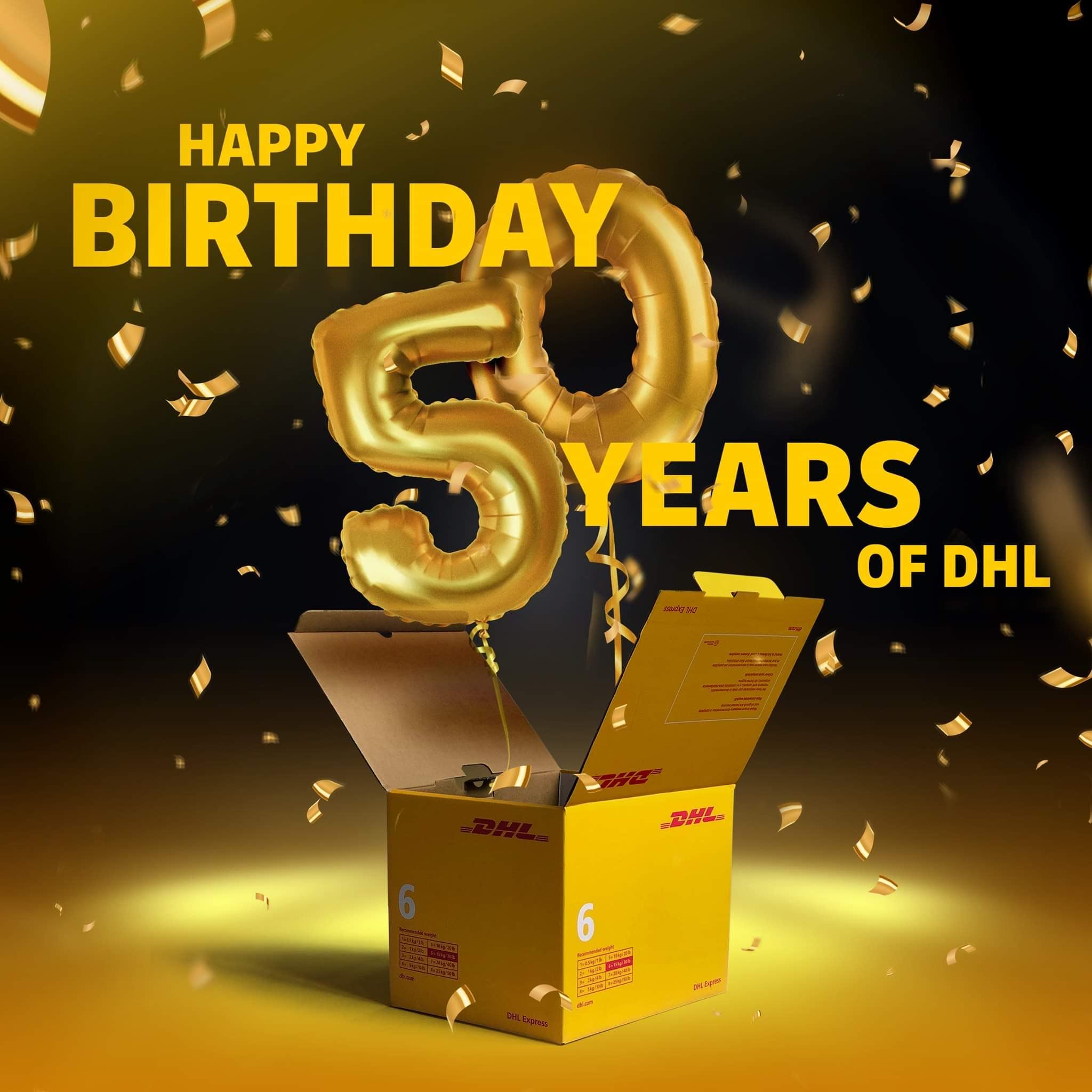 50% korting op DHL SNEL zending