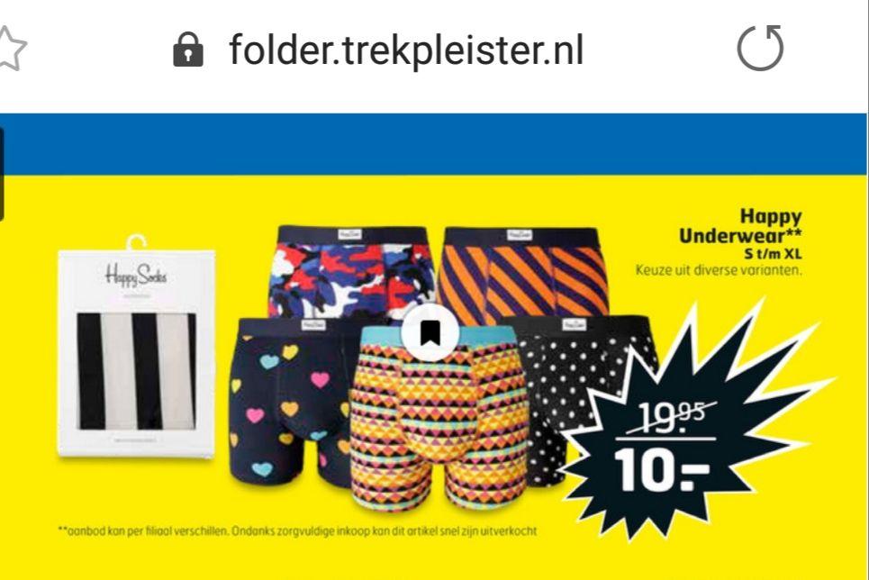 Happy underwear  ( van Happy Socks )