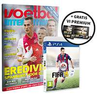 Halfjaar Voetbal International + FIFA 15 (PS4, PS3, Xbox 360 of PC) voor € 63,99