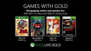 Games with Gold voor oktober