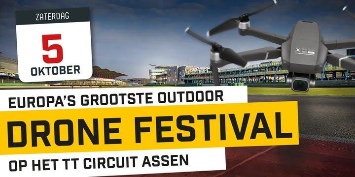 Drone Festival TT Circuit Assen Paddock tickets