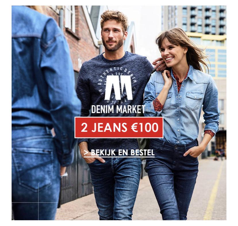 Denim Markt bij JeansCentre 2 jeans voor €100
