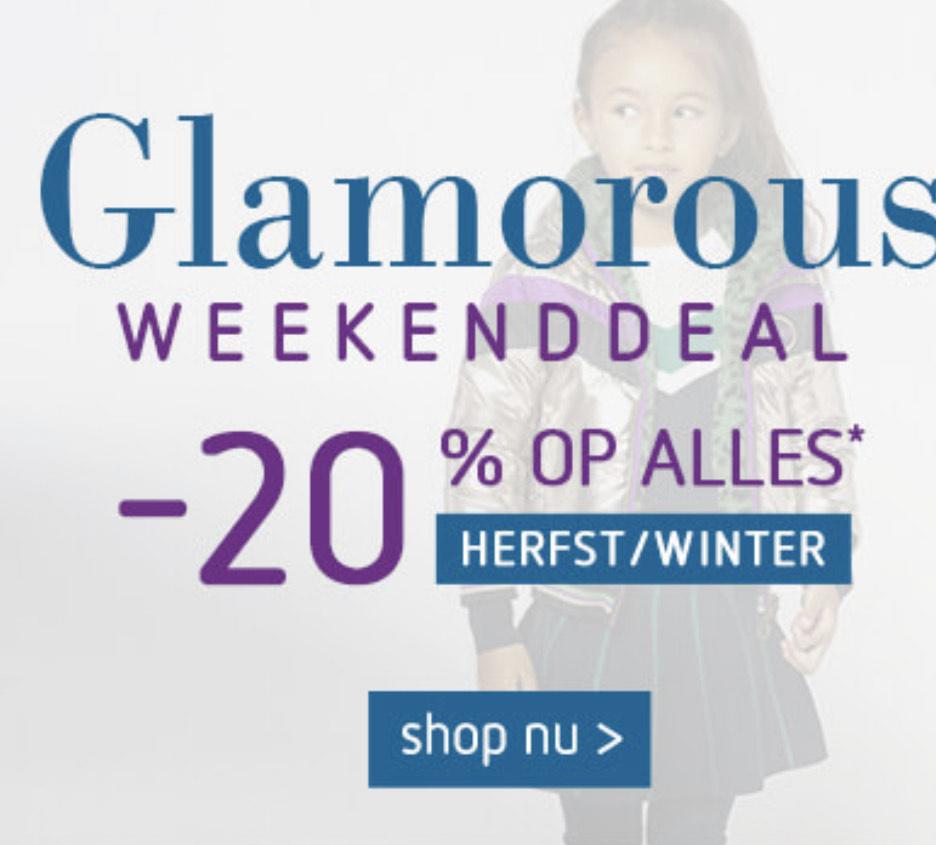 20% korting bij kleertjes.com