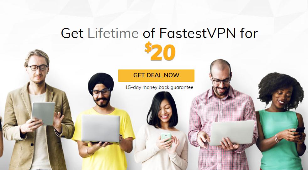 FastestVPN: Lifetime-abonnement (10 apparaten) $20 @ FastestVPN